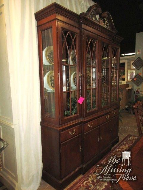 Ethan Allen Dark Pine Bedroom Furniture