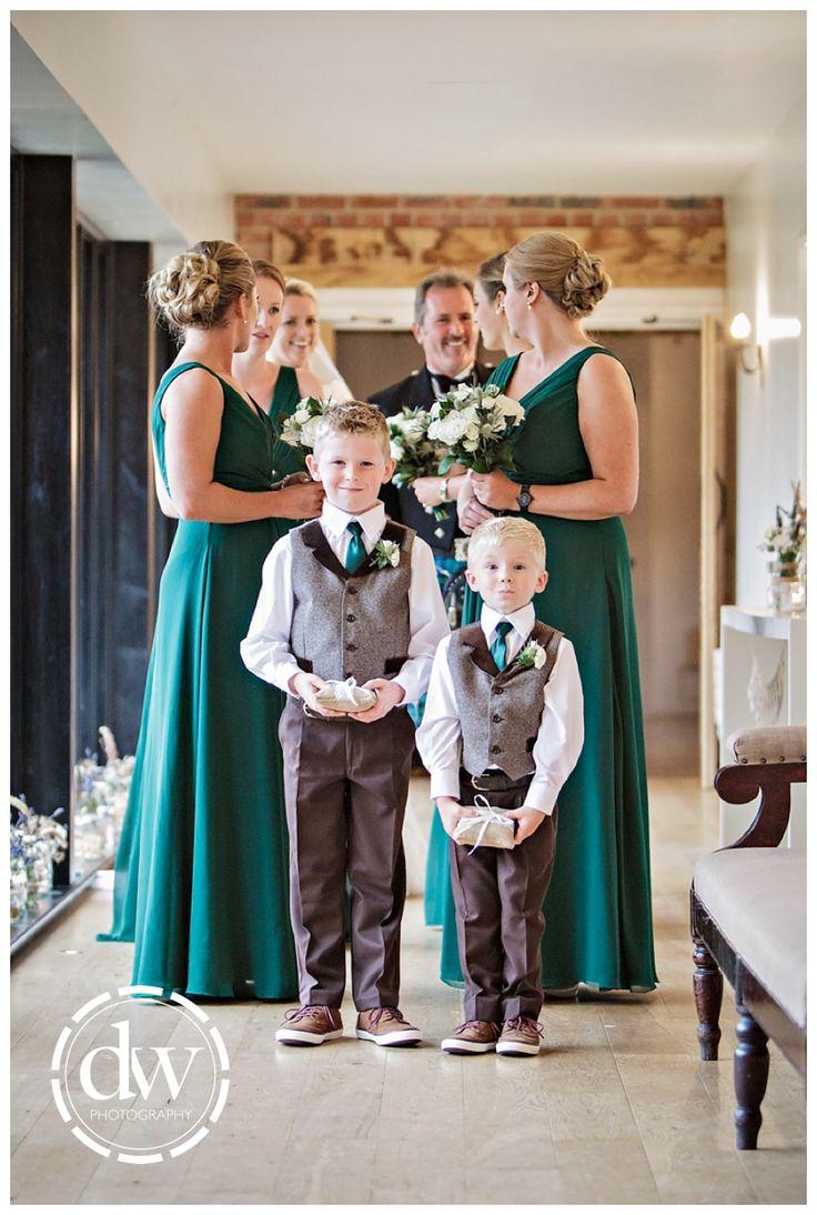 Wedding ceremony at The Granary Barns, Suffolk
