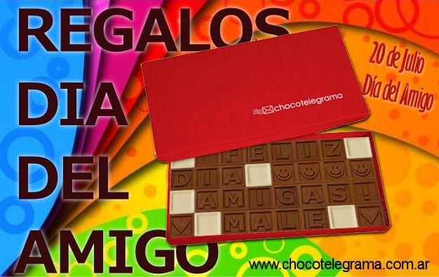 Regalos Originales para el DIA DEL AMIGO - Chocotelegrama