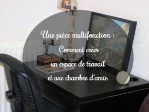 Avant / Après : Une pièce multifonction - Créer un espace de travail et une chambre d'amis • Hellocoton.fr