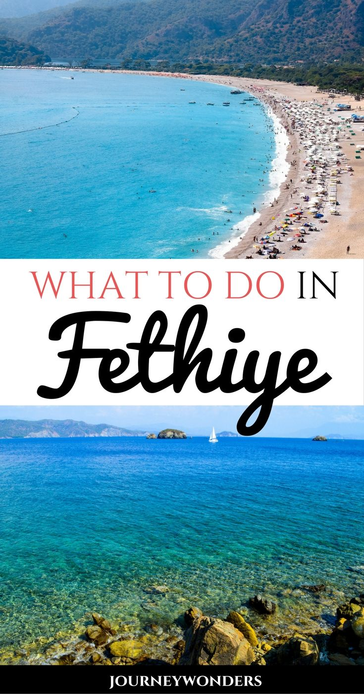 Planning a one month itinerary to Turkey? Here's the many things to do at Fethiye including sailing around Fethiye 12 Islands and the best Fethiye beaches!