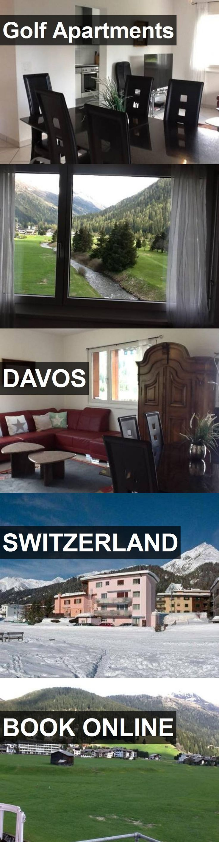 Hotel Golf Apartments in Davos, Switzerland. For more information, photos, reviews and best prices please follow the link. #Switzerland #Davos #GolfApartments #hotel #travel #vacation