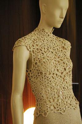 sensuous white crochet, Katia   Sensuous White