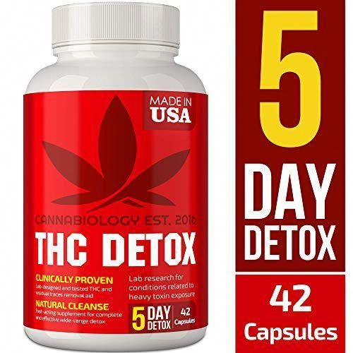 THC Detox Made in USA – BIO-Cleanse – liver detoxification, urinary and kidney cleansing …  – detox toxins