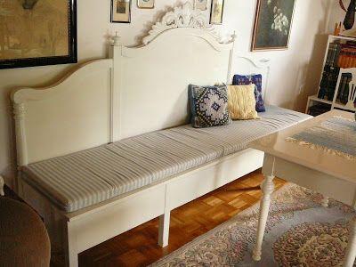 22 besten vom bett zur bank diy bilder auf pinterest aus alt mach neu geborgene m bel und diy. Black Bedroom Furniture Sets. Home Design Ideas