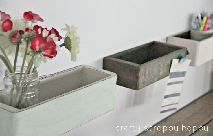 drawer shelves by crafty scrappy happyDecor Ideas, Crafty Scrappy, Crafts Room, Scrappy Happy, Desks, Drawer Shelves, Crafts Diy, Antiques Drawers, Drawers Shelves