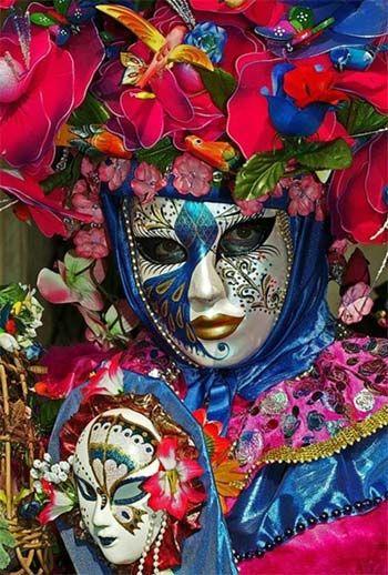 Carnival Venice masque