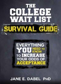 Kindle FREE Days:  April 1 – 3      ~~ The College Wait List Survival Guide: Everything You Need to Know to Increase Your Odds of Acceptance ~~   Every year, tens of thousands of high school students are wait listed by colleges and universities. Most students have no idea that there are steps they can take to boost their odds of admission.