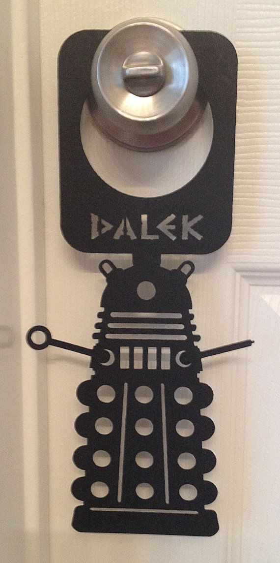 majestic dr who tardis door decal. Doctor Who Dalek Door Hangers Doors Dr  by ContourDsigns 13 best images on Pinterest Tardis door