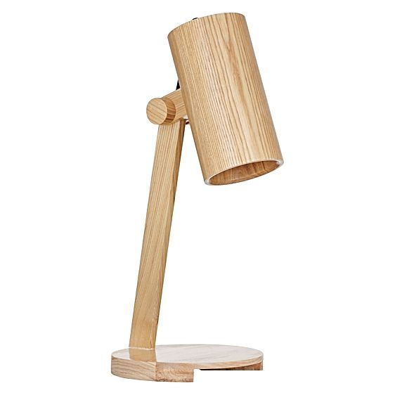 For light Scandi looks to illuminate your interior design, opt for the Picolo Desk Lamp from Amalfi, a modern design with timeless timber.