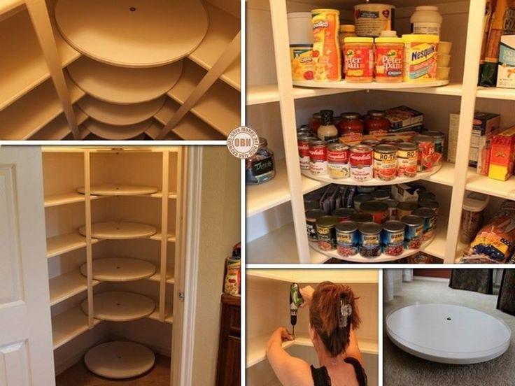 How to DIY Space Saving Pull-Out Pantry Cabinet | www.FabArtDIY.com