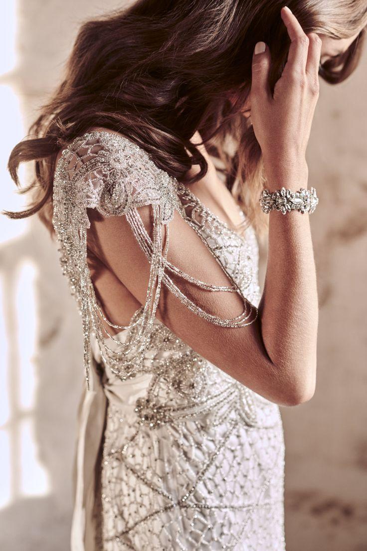 Anna Campbell Grace Dress | Vintage-inspired hand-embellished wedding dress