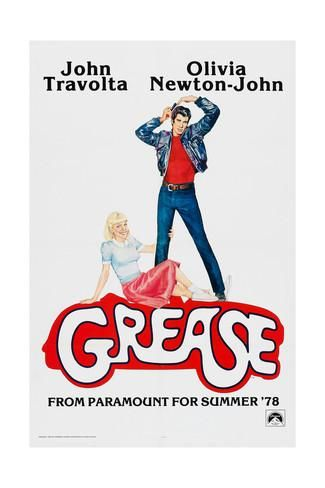 GREASE, John Travolta, Olivia Newton-John, 1978, © Paramount Pictures/courtesy Everett Collection Prints at AllPosters.com