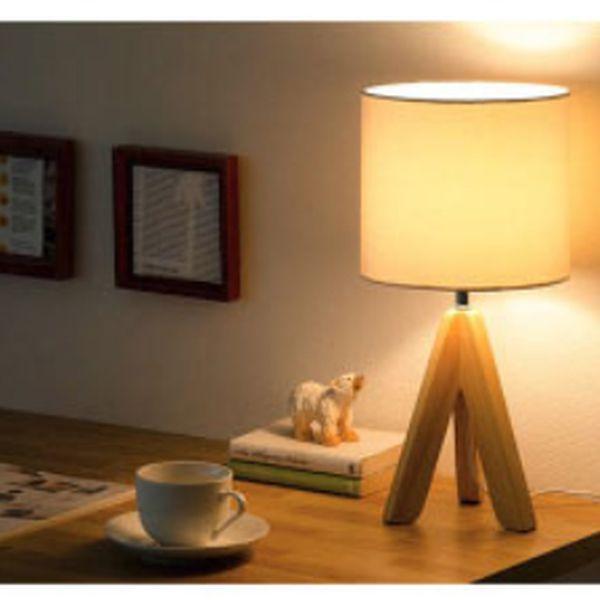 テーブルランプ 照明 テーブル 間接照明 ライト 北欧 インテリア スタンドライト スタンド照明 フロアライト デスクライト インテリア照明 モダン ナチュラル 新生活 LED 電球対応 天然木 スタンドライト Fasla〔ファスラ〕ベージュ ブラック | ROOM