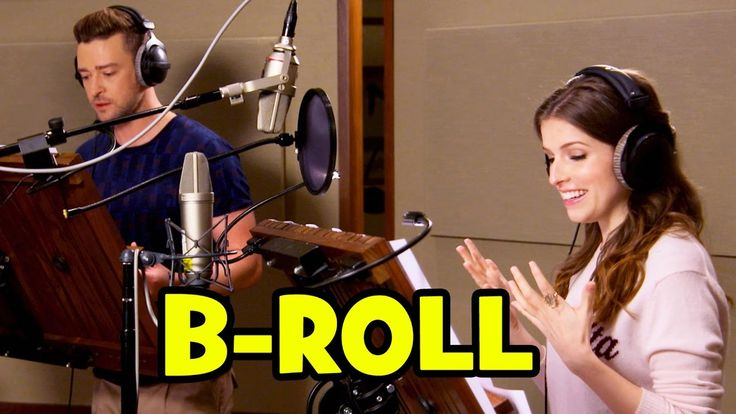 TROLLS Voice Cast B-ROLL - Anna Kendrick, Justin Timberlake, Gwen Stefan...