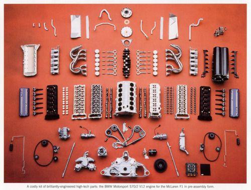 bmw loveBmw V12, Bmw Motorsport, V12 Engineering, Cars Engineering, Mclaren F1, Hors Power, Bmwpoweredv12Jpg 1024776, Bmw S70 2, Exploding View