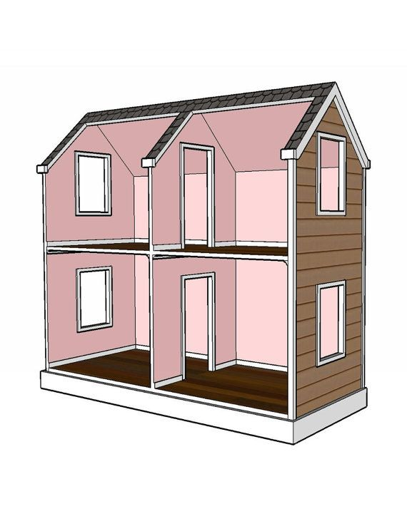 Doll House Plans 18 Inch Doll Woodworking Projects Plans