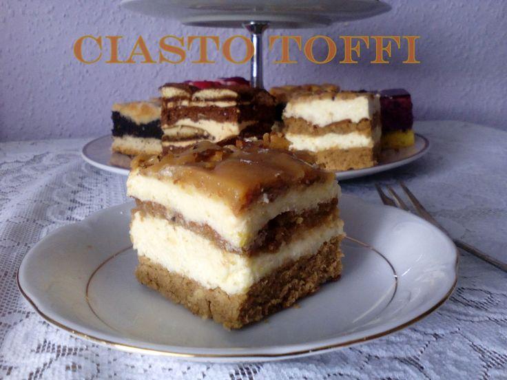 Ciasto Toffi – szybko znikające PRZEPIS