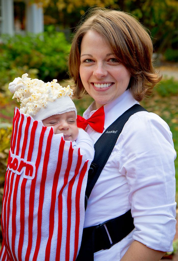 Baby's First Halloween..50+ Genius Halloween Costume Ideas For Parents With Baby Carriers