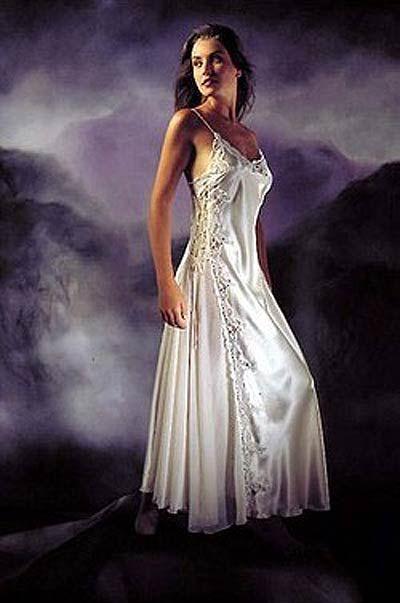 24 best Nighty Nighty images on Pinterest | Silk nightgown, David ...