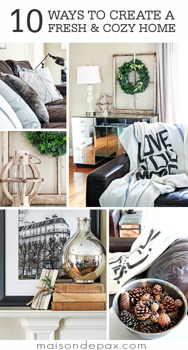Freshen Up Your Home With These 10 Cozy Tips Tricks And Ideas For