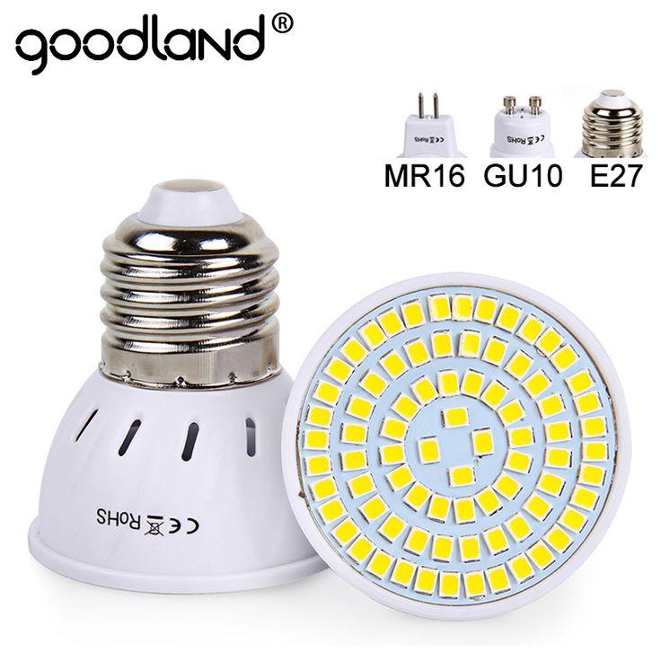$1.98 (Buy here: https://alitems.com/g/1e8d114494ebda23ff8b16525dc3e8/?i=5&ulp=https%3A%2F%2Fwww.aliexpress.com%2Fitem%2FGoodland-E27-LED-Lamp-220V-240V-MR16-GU10-LED-Bulb-LED-Spotlight-Bulb-Lampada-48-60%2F32789758980.html ) Goodland E27 LED Lamp 220V 240V MR16 GU10 LED Bulb LED Spotlight Bulb Lampada 48/60/80LEDs SMD 2835 For Indoor Home Spot Light for just $1.98
