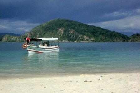 Bidadari beach, manggarai NTT