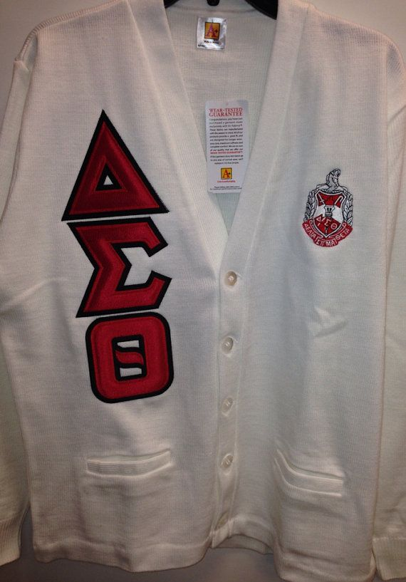 Items Similar To Delta Sigma Theta Vintage Style Cardigan On Etsy