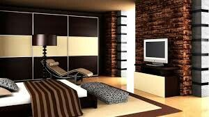 Applying brown in any room can make the ambience very classy