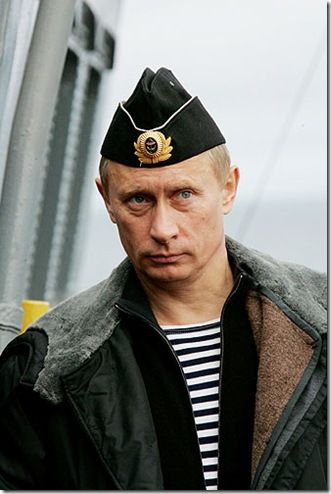just putin wearing a hat