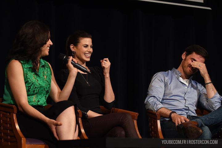Lana Parilla, Meghan Ory and Colin O'Donoghue at Fairytales III Convention [DAY 2]