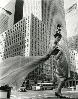 photo Bill Cunningham, 'Socony-Mobil Building' NYC