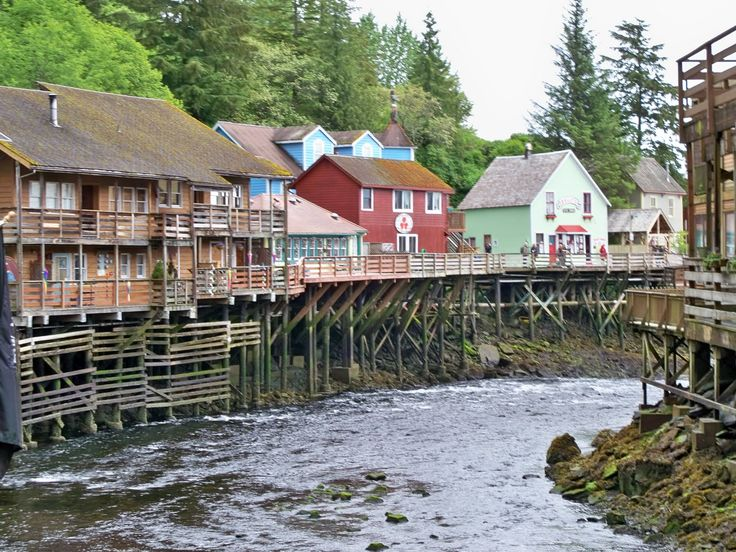les port en alaska  | Combiné train en Colombie britannique & croisière en Alaska