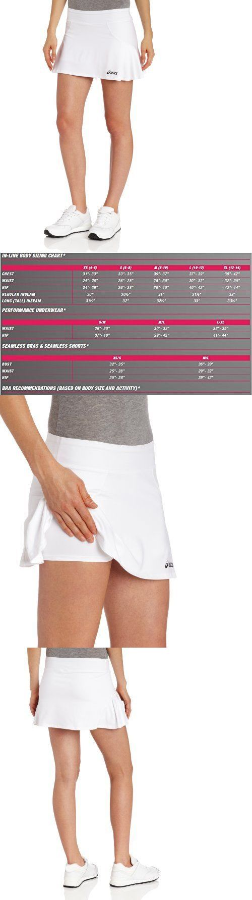 Other Racquet Sport Clothing 70903: Asics Women S Love Skort Small White Womens Tennis Apparel, New -> BUY IT NOW ONLY: $136.4 on eBay!