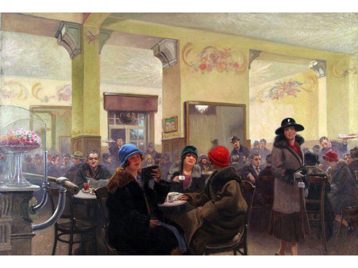 Po zakończeniu I wojny światowej na nowo rozkwitło życie towarzyskie. Powstały lub wznawiały działalność kawiarnie, teatrzyki rewiowe i kabarety. W Polsce działalność tego typu lokali rozwijała się w atmosferze radości związanej z odzyskaniem niepodległości. Jan Lechoń Julian Tuwim i Antoni Słonimski otworzyli w Warszawie kawiarnię Pod Pikadorem, która wkrótce zyskała wielką popularność.