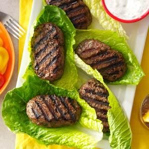 Juicy & Delicious Mixed Spice Burgers This sounds like the Turkish Burgers from Something Different!