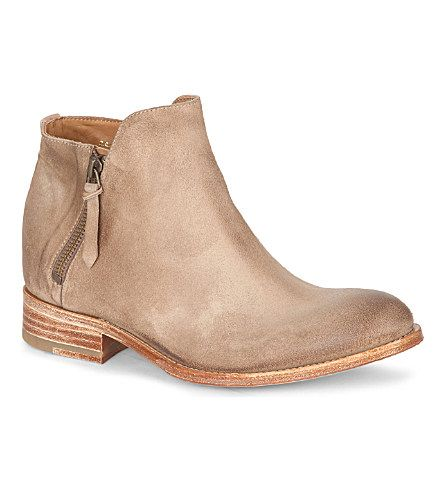 NDC HELENE LEATHER ANKLE BOOTS