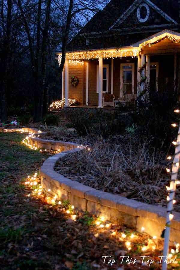 Outdoor Christmas Lighting Ideas Illuminate The Holiday Spirit