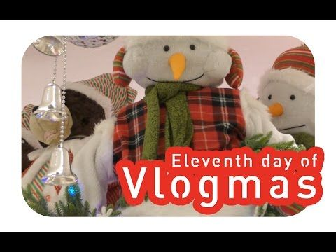 Eleventh day of Vlogmas - Christmas shopping in the big city