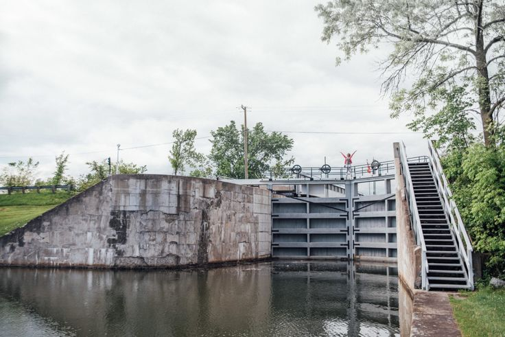Kingston Mills Lock Station - Rideau Canal Canada