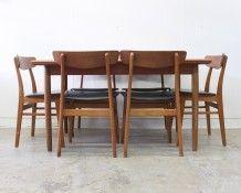 Danish teak dining suite - The Vintage Shop