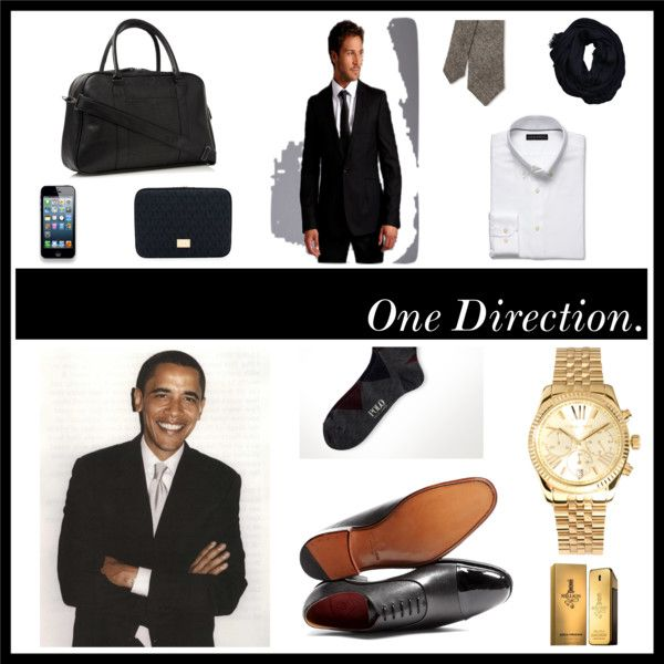 """Mens Business Fashion Inspired by President Barack Obama"" by korey-ceo-miller on Polyvore"