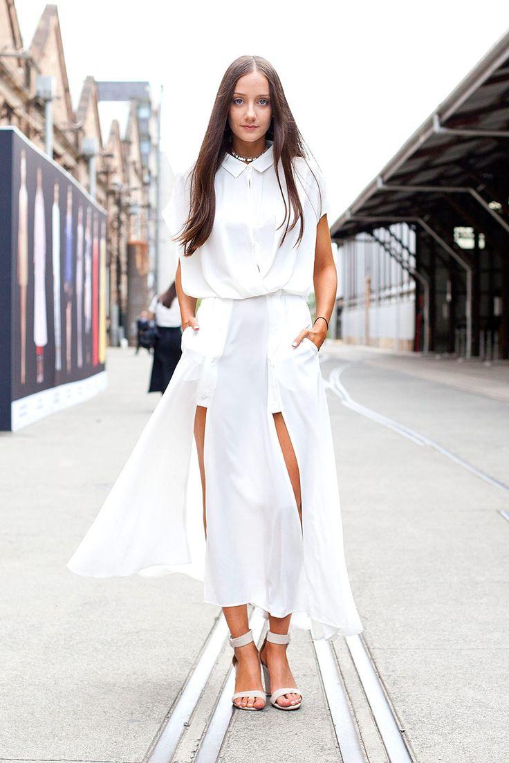 All White Sydney Fashion Pinterest