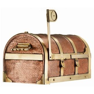 Steamer Trunk Mailbox