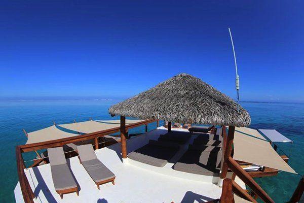 海に浮かぶ楽園か!世界一幸福な国のパラダイスすぎる水上バー   STYLE4 Design
