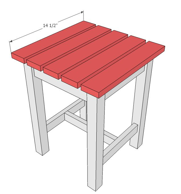 Outdoor End Table Plans Free - Downloadable Free Plans