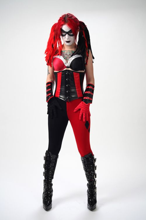 harley quinn cosplay cosplay pinterest. Black Bedroom Furniture Sets. Home Design Ideas