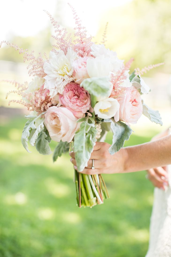 Blush Pink Bridal Bouquet | Caynay Photo, LLC https://www.theknot.com/marketplace/caynay-photo-llc-madison-wi-819538