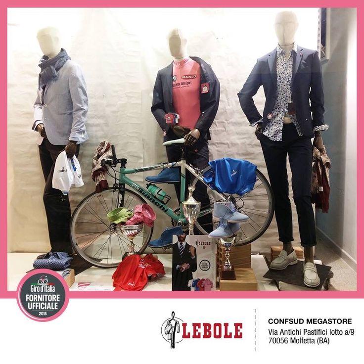 CONFSUD MEGASTORE, Molfetta (BA) - I nostri Clienti festeggiano il Giro d'Italia 2015 e presentano l'abito esclusivo prodotto da LEBOLE per il Giro #lebolegiro2015 #lebole #abito #modauomo #fashion #stile