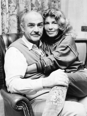 Sean Connery Actor And His Wife Micheline Famous Loves